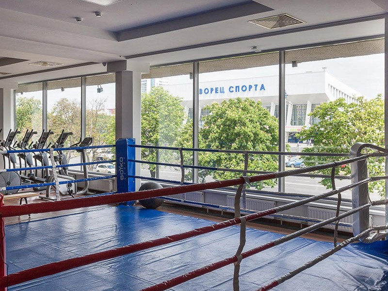 Боксерский профессиональный ринг BOYKO